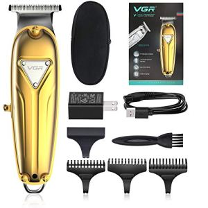 Professional Hair Liners Clippers for Men, VGR Cordless Outlining Trimmer with T Blade, Electric...