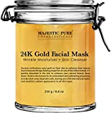 Majestic Pure Gold Facial Mask, Help Reduces the Appearances of Fine...