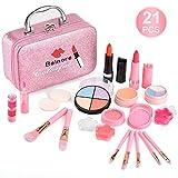balnore 21 Pcs Maquillage Enfant Jouet Fille avec Coffrets De Maquillage Jouet...