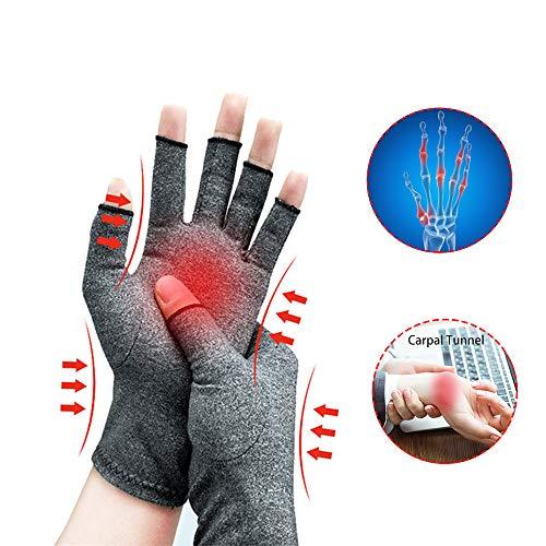 Guanti per l'artrite, Nuovo materiale, Compressione per l'artrite Sollievo dal dolore Osteoartrosi...