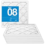 MervFilters 12x12x1 Air Filter, MERV 8, MPR 600, AC Furnace Air Filter, 6 Pack