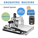 3 AXIS 800W 6040 Desktop CNC Router 3D Engraving Drilling Milling...