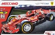 MECCANO- Monoposto Ferrari, Colore Rosso, 6044641