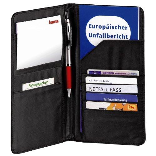 Porta Documentos 130 x 10 x 230 mm, Negro