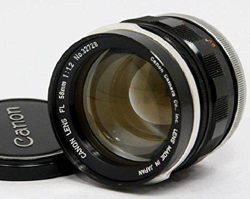 Canon FL 58mm f1.2