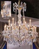 Maria Theresa Crystal Chandelier Made with Swarovski Crystal Chandeliers Lighting 30'X28'
