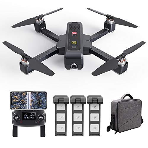 Goolsky MJX B4W Drone Bugs Drone 4W Brushless RC Drone con Telecamera 4K 5G WiFi FPV GPS Ultrasuoni Flusso Ottico Posizionamento Drone Quadcopter Pieghevole Seguimi