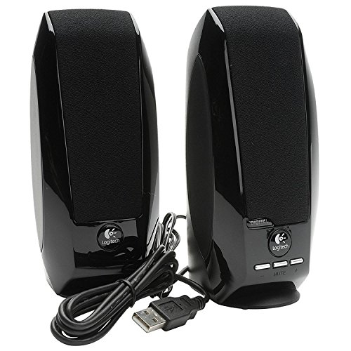Speaker|LOGITECH|P.M.P.O. 1.2 Watts|Black|980-000029