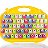 Mini Scrapbook Paper Hole Puncher 58 pc set Easy to use and easily cuts through cardstock Keep all DIY Craft Punchers organized in a travel case This specially designed paper punch is ideal to create embossed patterns with interior cutouts on cards, ...