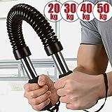 Physionics Power Twister - Extensible, Flexible, Barre en Acier,...