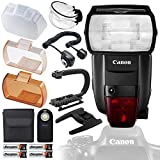 Canon Speedlite 600EX II-RT with Deluxe Accessory Bundle and Starter Kit