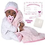 Adora Adoption Baby 'Joy' - 16 inch newborn doll, with accessories and Certificate of Adoption