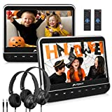 Pumpkin Double Ecran DVD Voiture 10,1 Pouce Equipé Ecouteur (Deux Lecteurs...