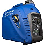Westinghouse iGen2500 Super Quiet Portable Inverter Generator 2200 Rated & 2500 Peak Watts, Gas Powered, 19.70 x 11.22 x 17.91 inches, CARB Compliant