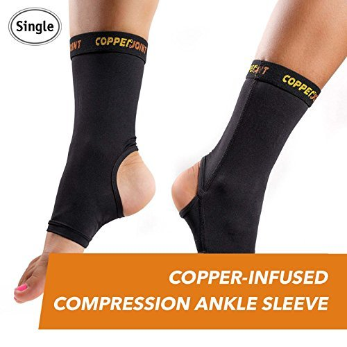 CopperJoint Compression Ankle Sleeve (X-Large)