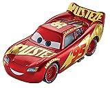 Disney Pixar Cars petite voiture Flash McQueen, rouge avec décoration...