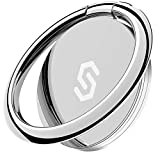 Syncwire スマホリング 携帯リング 薄型 360°回転 落下防止 指輪型 スタンド機能 iPhone リング ホールドリング フィンガーリング iPhone 13mini / 13 / 13 Pro / 13 Pro Max/iPhone 12mini / 12 / 12 Pro / 12 Pro Maxi などのiPhone/Android各種他対応-シルバー