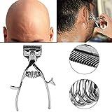 Tondeuses à cheveux manuelles - tondeuse à cheveux de barbier en acier...