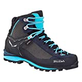Salewa Women's Crow GTX, Premium Navy/ETHERNAL Blue, 9.5 M US