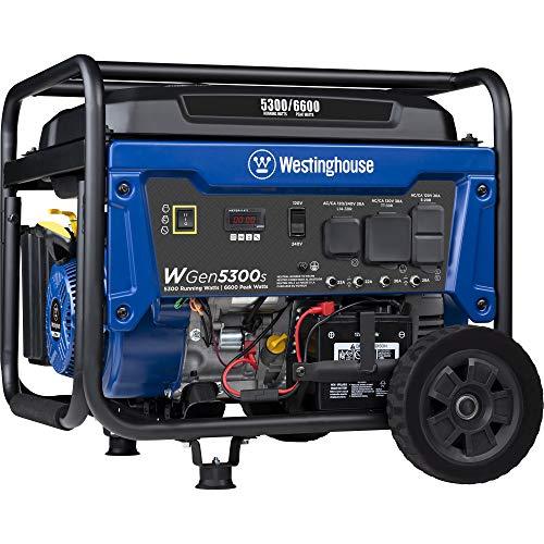 Westinghouse WGen12000DF Ultra Duty Portable Generator - 12000...