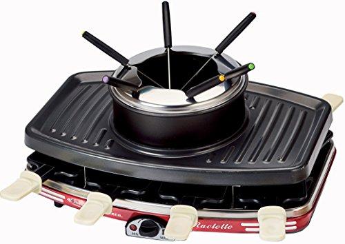 Ariete 793.0 raclette fondue, Mehrlagig, Rot
