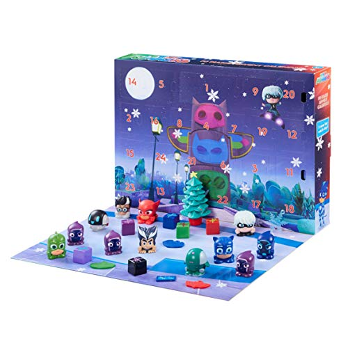 PJ Masks 06857 - Calendario dell'Avvento, Multicolore