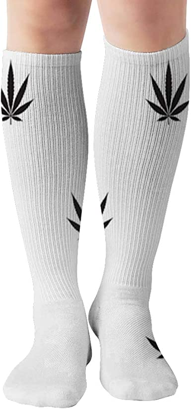Amazon.com: Marijuana Weed Cannabis Compression Socks Women & Men, Best Athletic & Medical Running Flight Travel Pregnant 19.68 Inch: Clothing