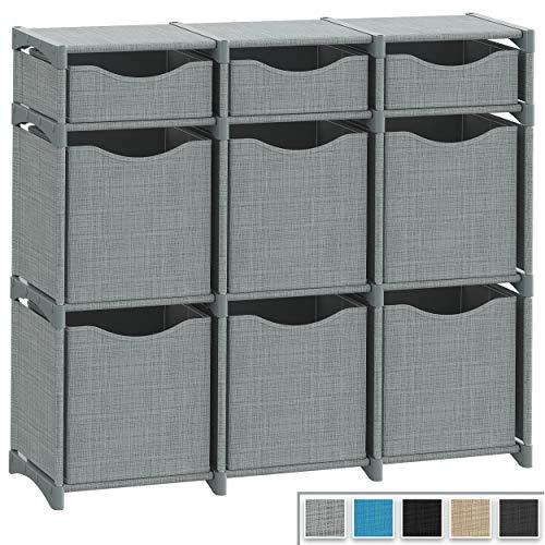 9 Cube Organizer | Set of Storage Cubes Included | DIY Closet...