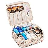 Grande trousse de maquillage - Pour le voyage - Organiseur pour femmes et filles (flamant rose...