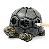 Monsiter QE Turtle Ashtrays for Cigarettes Cute Ash Tray for Home and Outdoor