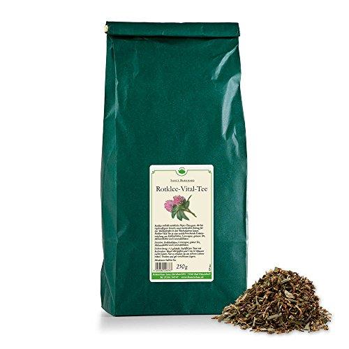 Sanct Bernhard Rotklee-Vital-Tee mit Rotklee, Lemongras, Lavendel, Melisse, grünem Tee 250 g
