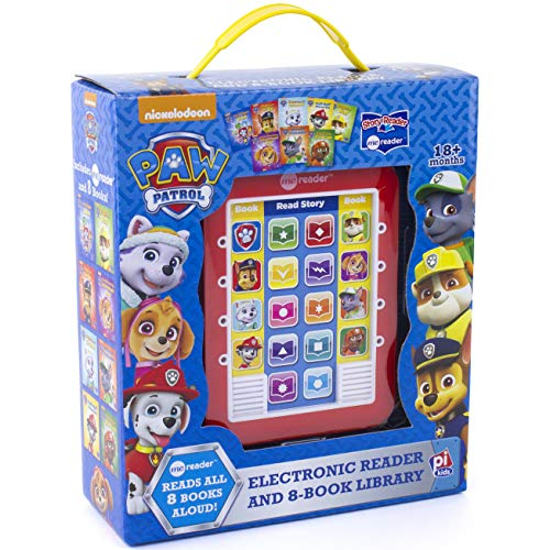 Nickelodeon Paw Patrol Chase, Skye, Marshall, and More! - Me Reader Electronic Reader and 8 Sound Book Library - PI Kids