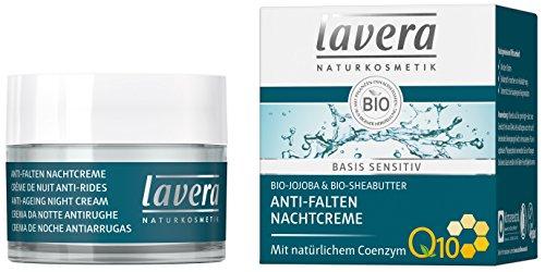 lavera Anti Falten Nachtcreme Q10 ∙ Feuchtigkeit & Pflege ∙ Anti Aging...