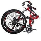 Eurobike 26 in Folding Mountain Bikes G6 (red)