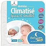 Babysom - Matelas Bébé Climatisé -...