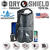 Mission Darkness Dry Shield Faraday Tote 15Lkg. Waterproof Dry Bag for...
