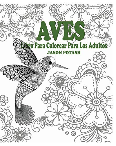 Aves Libro Para Colorear Para Los Adultos