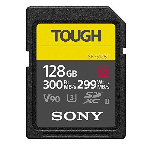 ソニー SONY SDXC メモリーカード 128GB Class10 UHS-II対応 SF-G128T [国内正規品]