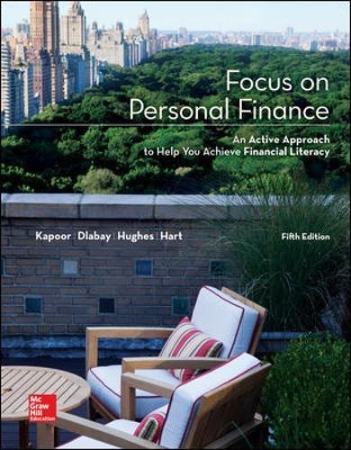 Focus on Personal Finance (Mcgraw-Hill/Irwin Series I Finance, Insurance, and Real Estate) (Standalo