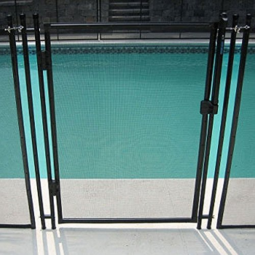 51bqH0npAtL - 7 Best Pool Fences to Keep Your Swimming Areas Safe
