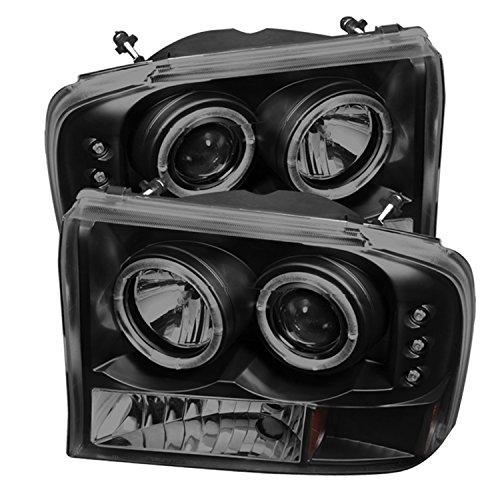 Spyder Auto 5078452 LED Halo Projector Headlights Black/Smoked