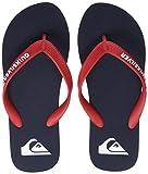 Quiksilver Molokai Youth, Zapatos de Playa y Piscina Hombre, Azul (Blue/Red/Blue Xbrb), 37 EU