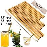 pailles en bambou biologique. réutilisable Bambous pailles...