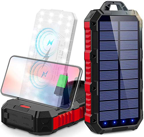 power bank solare 30000 mah Caricabatterie...