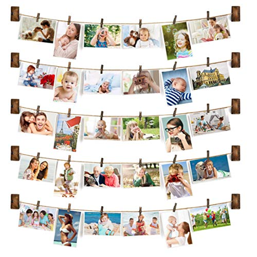Dingtuo Hanging Photo Display Wall Decor DIY Collage Picture...