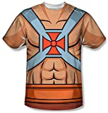 Masters of the Universe - He-Man Costume Tee T-Shirt Size L