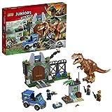 LEGO Juniors Jurassic World - L'évasion du tyrannosaure - 10758 - Jeu de Construction
