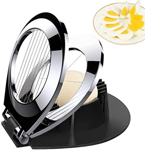 Egg Slicer, Egg Cutter Heavy Duty Slicer for...