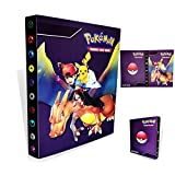 Porte-cartes Pokémon,Livre de cartes Livre de cartes de collection Pokémon,...