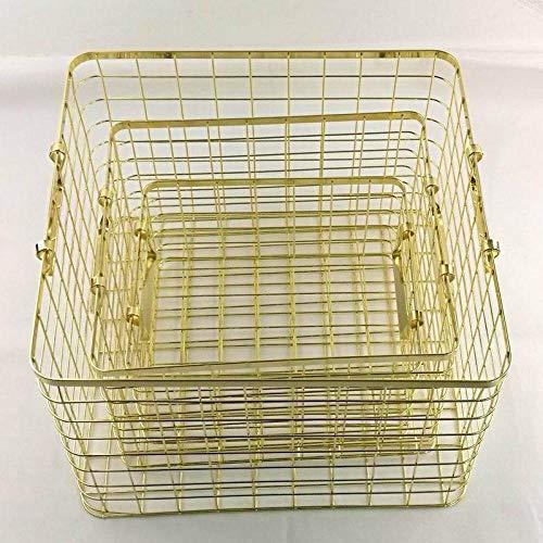 NOBRAND Take Baskethome Home - Cestino per libri in ferro da stiro, quadrato, collezione di mobili...